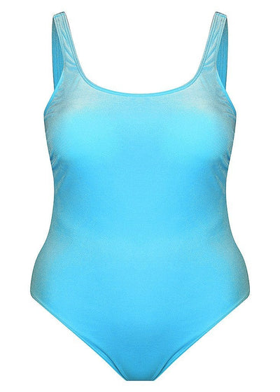 aqua blue one piece swimsuits