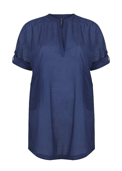 navy blue kaftan