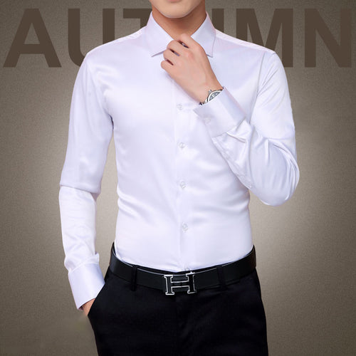 Men's Luxury Shirts Wedding Party Dress