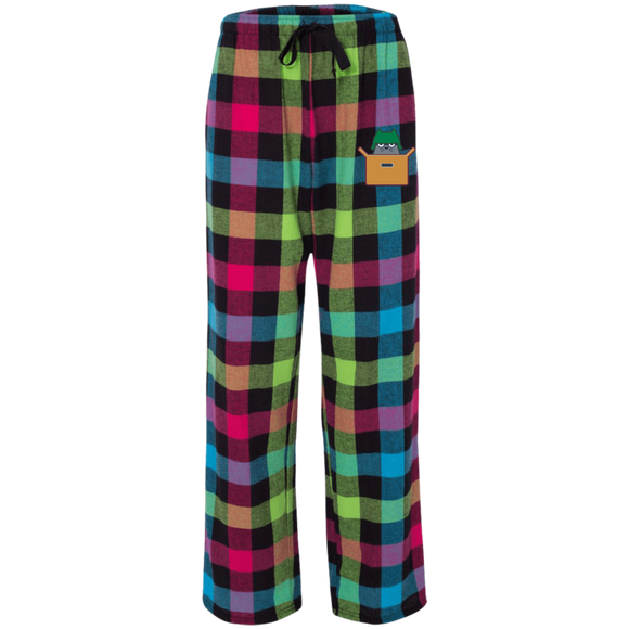 Fits & Sits Rainbow Flannel Pants
