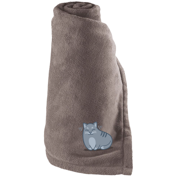 Kitty Purrs Fleece Blanket
