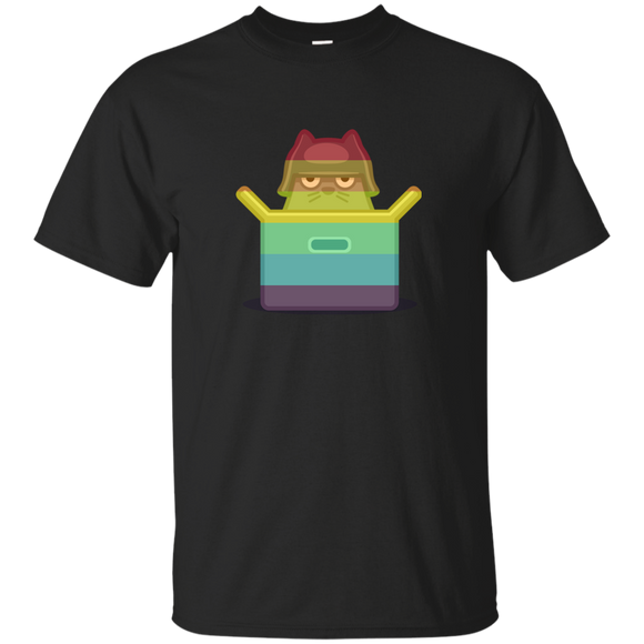 Fits & Sits Rainbow T-Shirt