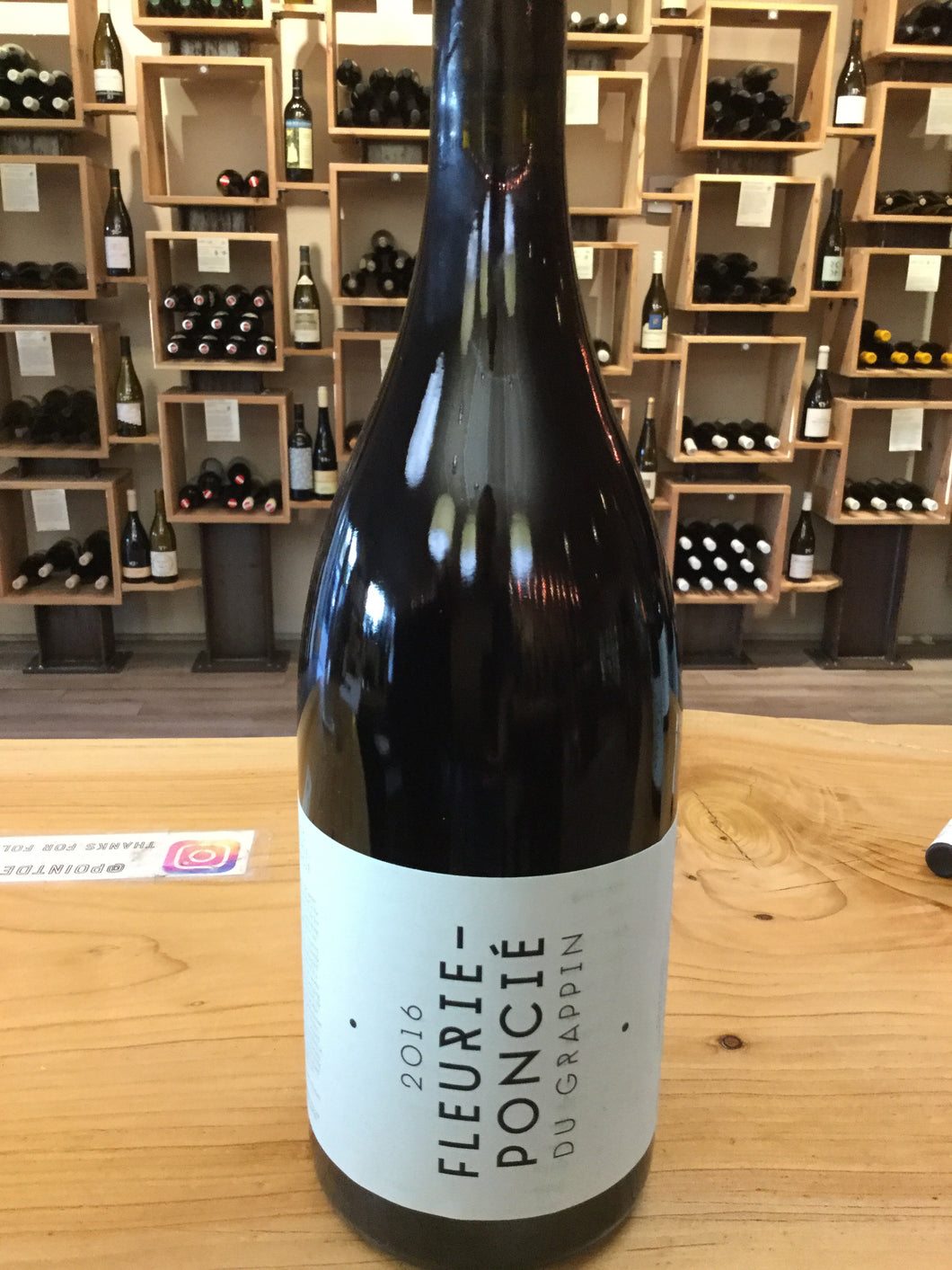 Du Grappin '16 Fleurie-Poncie