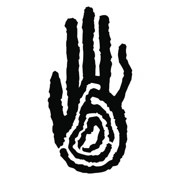 Stylized Hand Print 44 Pictograph