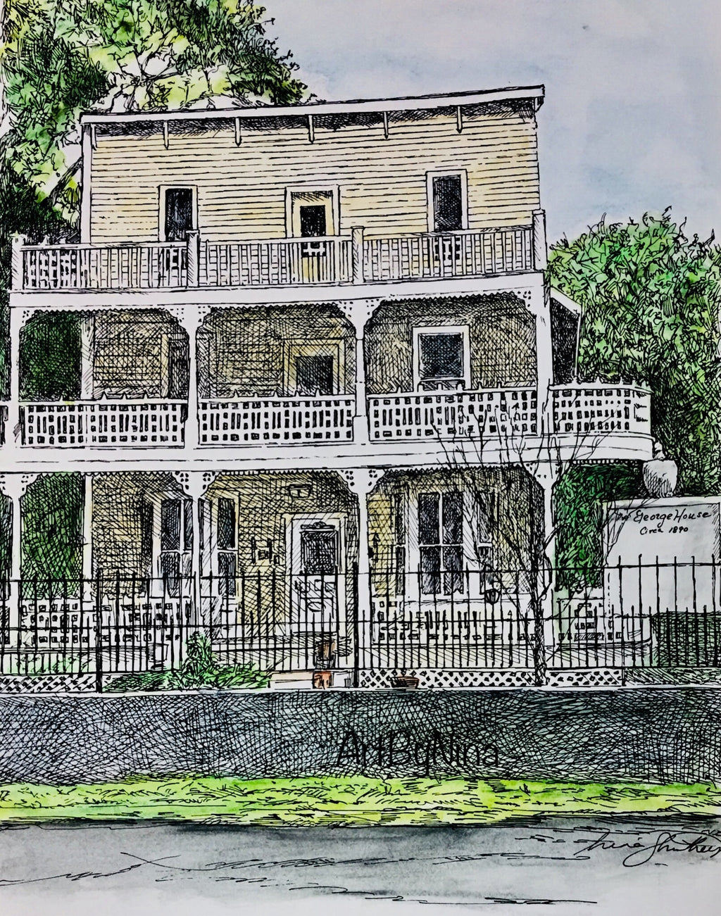 Fort Bend Art - George House in Richmond #249