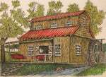 Barn Art - Watermill #274