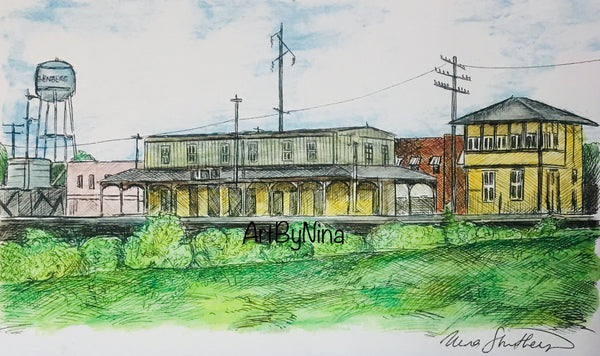 Fort Bend Art - Rosenberg Railroad Museum #253