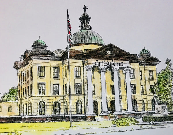 Fort Bend Art - Fort Bend County Courthouse #248
