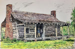Fort Bend Art - Log Cabin/Stock Farm at George Ranch #244