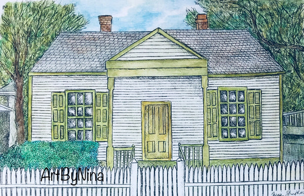 Fort Bend Art - Jane Long Cottage in Richmond #242