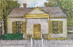 Architecture Print - Jane Long Cottage #169