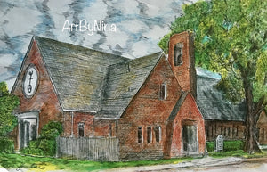 Fort Bend Art - St. John's United Church, Rosenberg #251