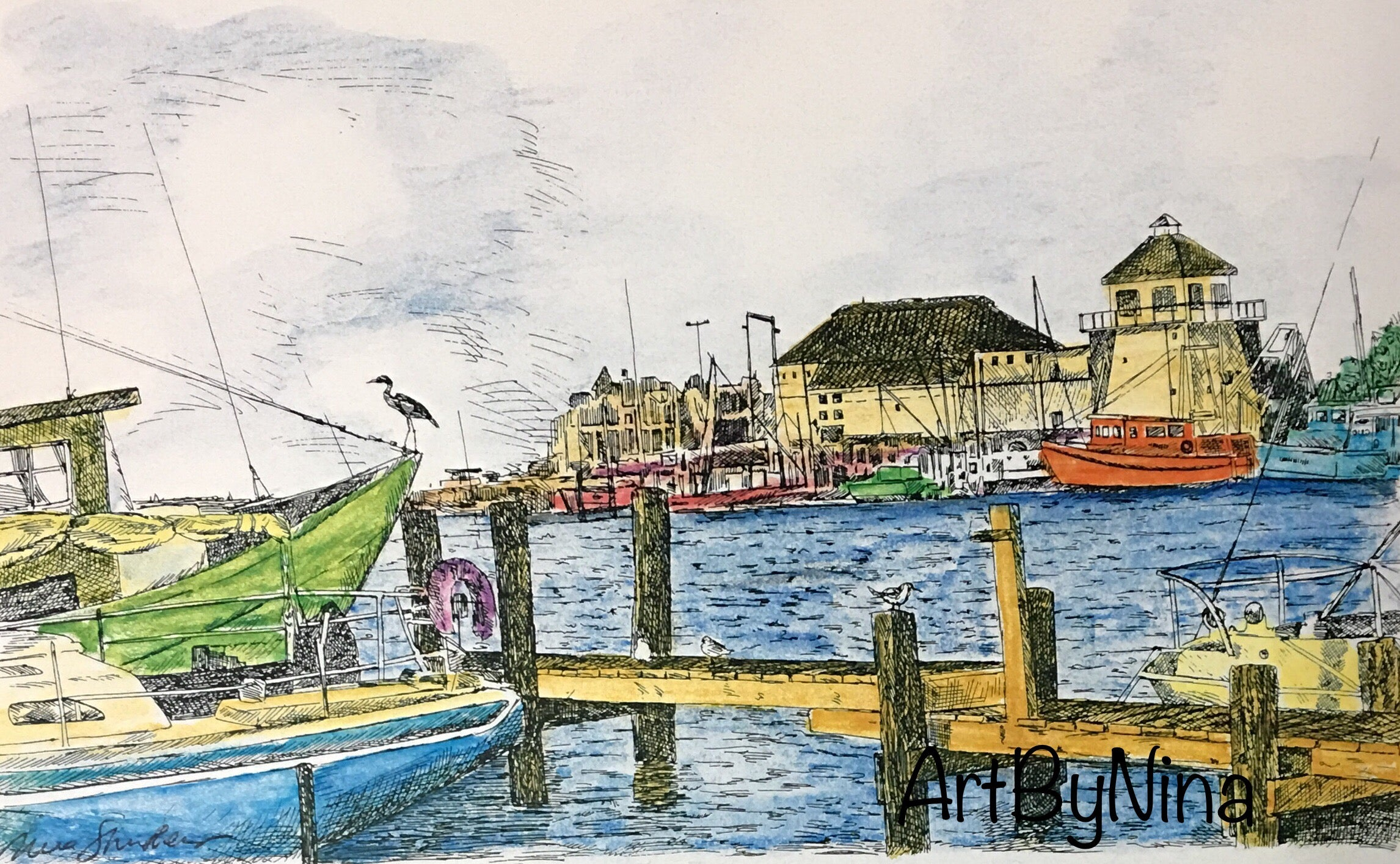 Architecture Print - Rockport #142