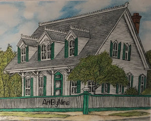 Fort Bend Art - Mc Farlane House #228