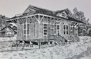 Fort Bend Art - Richmond Train Depot #234