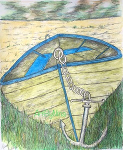 Still Life - Beached Boat #302
