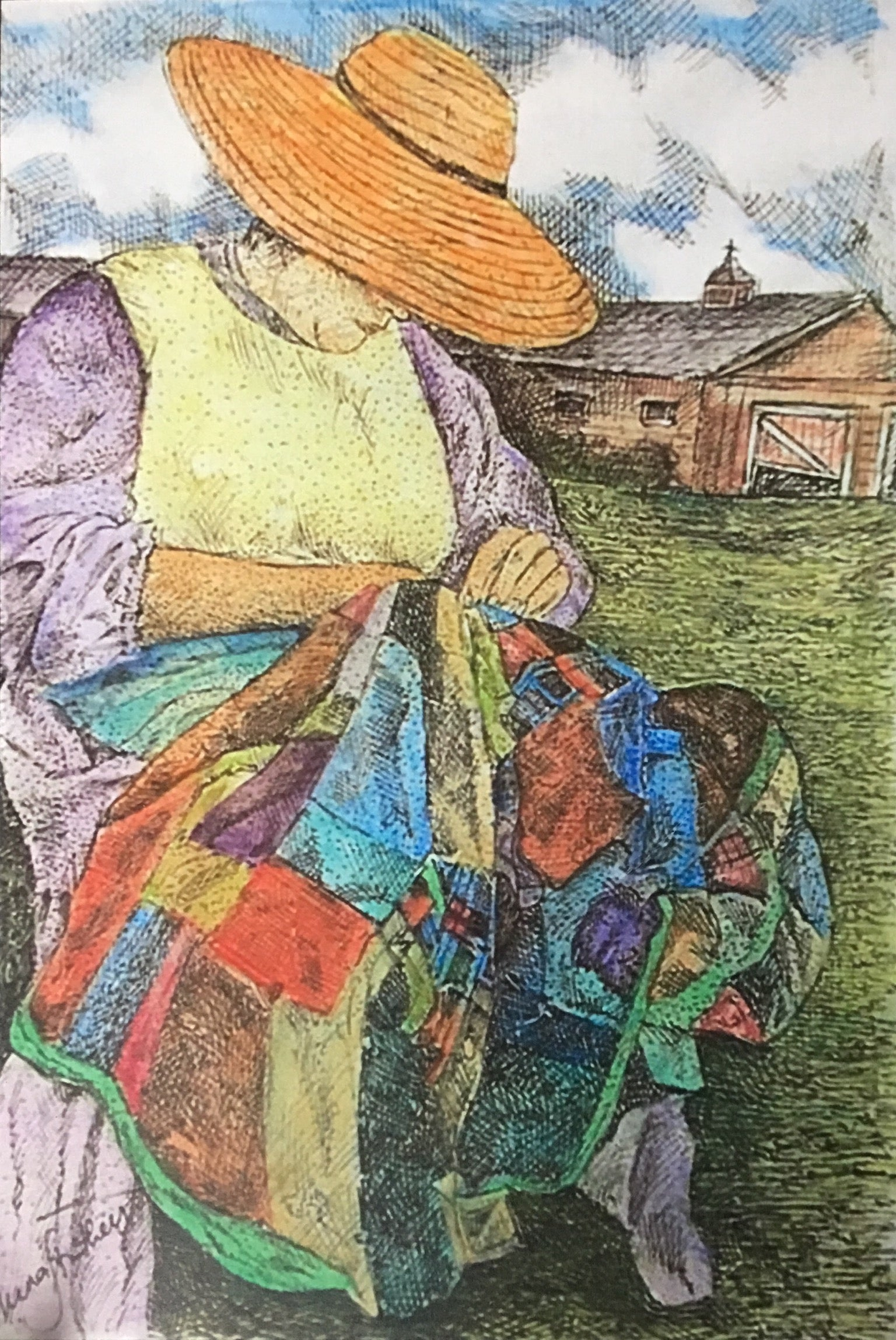 People Print - The Quilter # 270