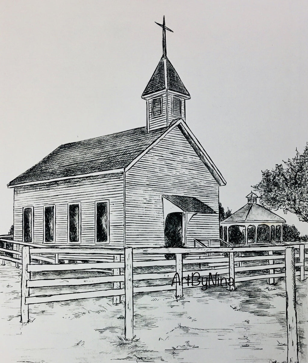 Fort Bend Art - Chapel at George Ranch #254