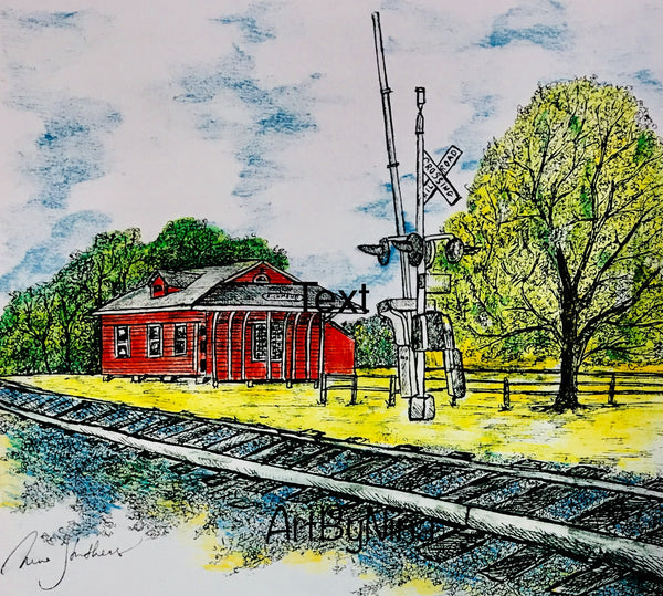 Fort Bend Art - Richmond Railroad Depot #231