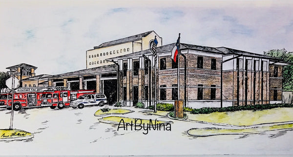 Fort Bend Art - Richmond Fire Station #232