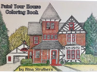 Paint Your House Coloring Book