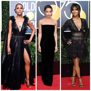 Times Up! Golden Globes Red Carpet