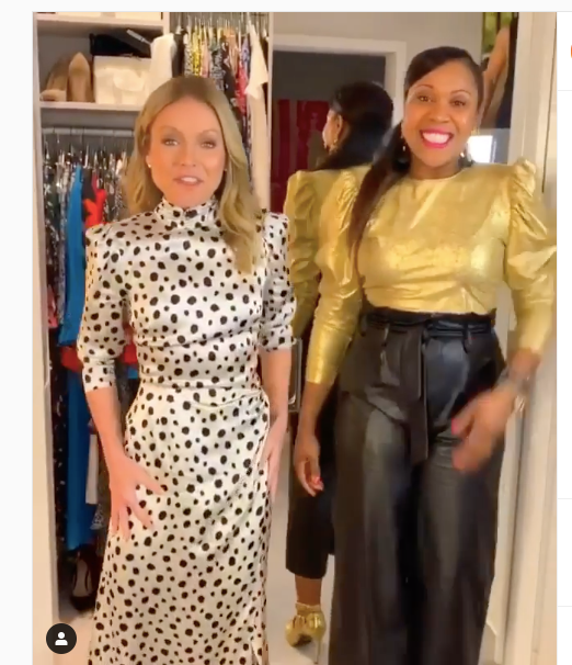 We are live in Kelly's Closet at the Kelly and Ryan Show