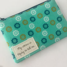 Tampon Bag, Funny Zipper Bag for Feminine Products, Tampon Pouch for Purse, Period Humor, Cute and Discreet for your Bag