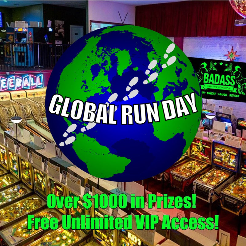 Global Run Day Badass Silverball Charity 5K