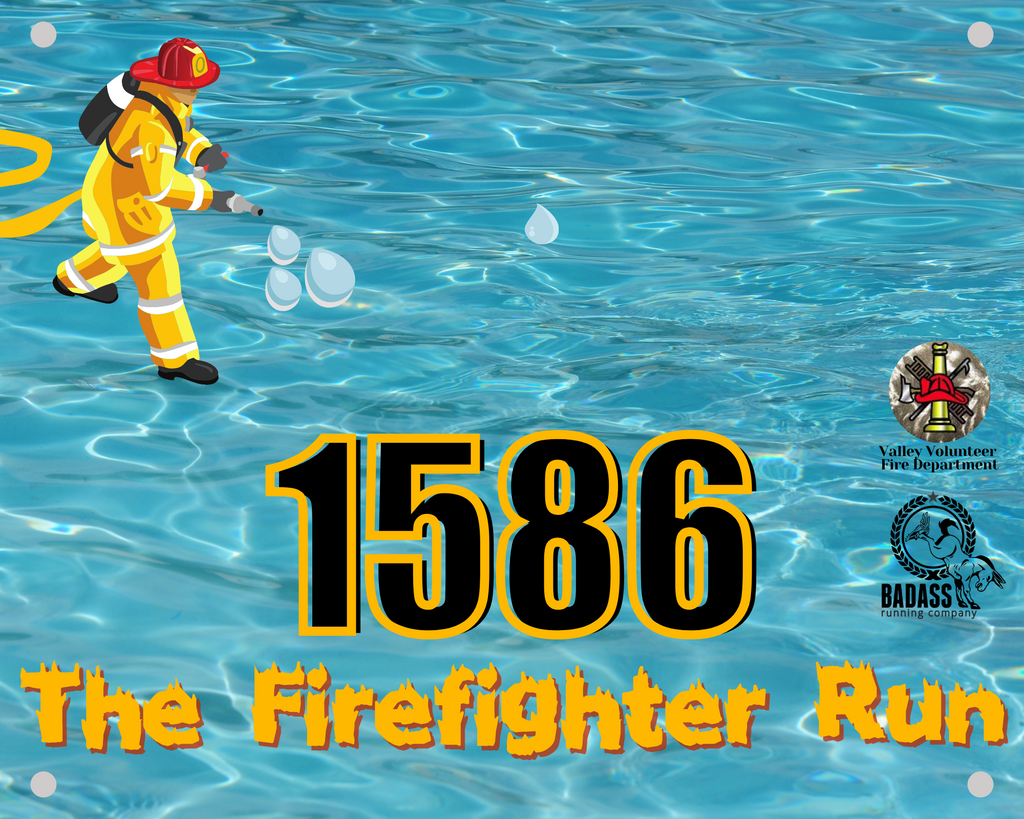 The Firefighter Run (Virtual Charity Race)