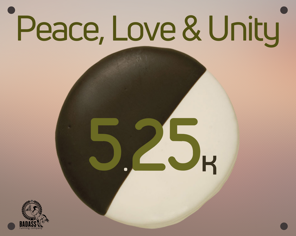 Peace, Love & Unity 5.25K (Virtual Charity Run)