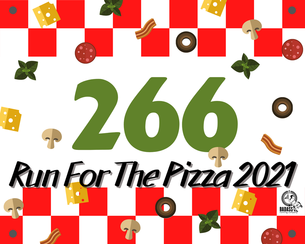 Run For The Pizza 2021 (Virtual Charity Race)