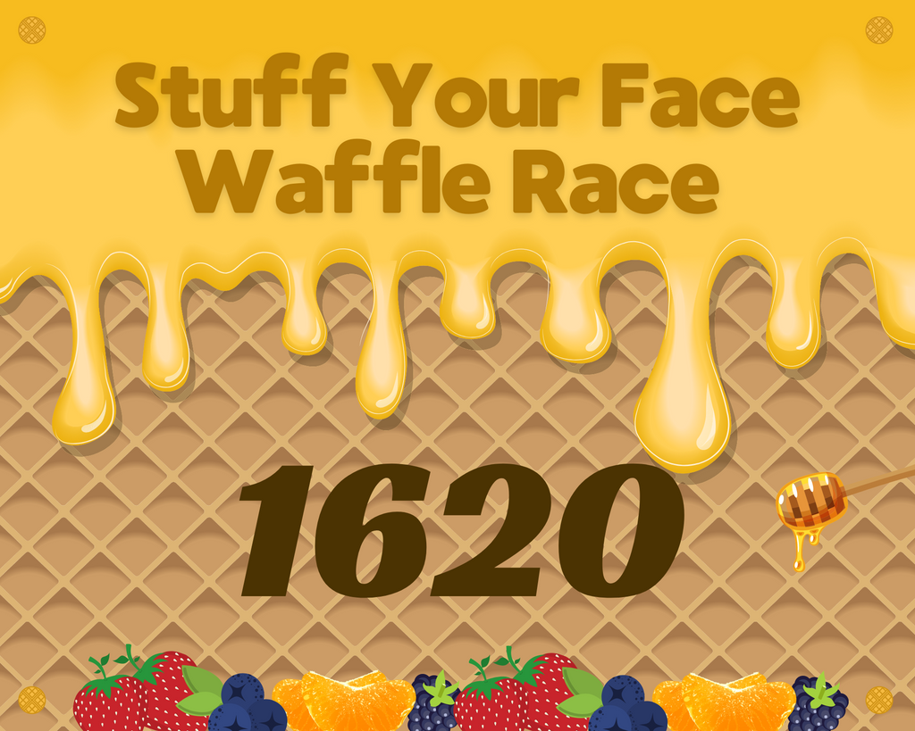 Stuff Your Face Waffle Race (Virtual Charity Run & Walk)
