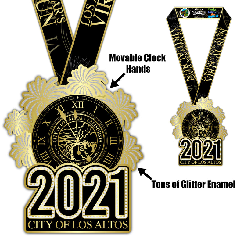 City of Los Altos New Year's Virtual Run