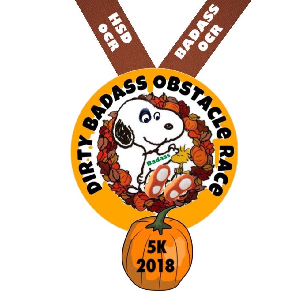 Dirty Badass Obstacle Course Race - Thanksgiving Edition