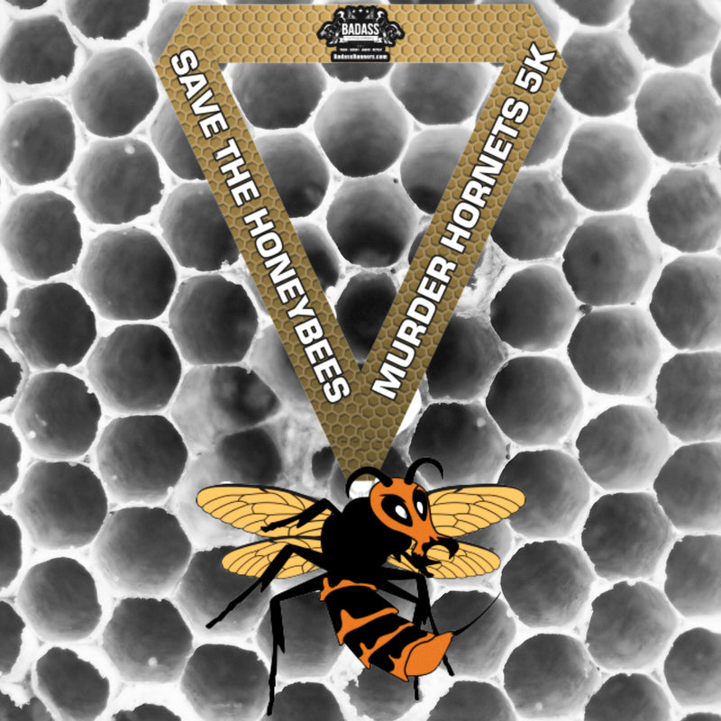 Murder Hornets 5K (Virtual Charity Race)