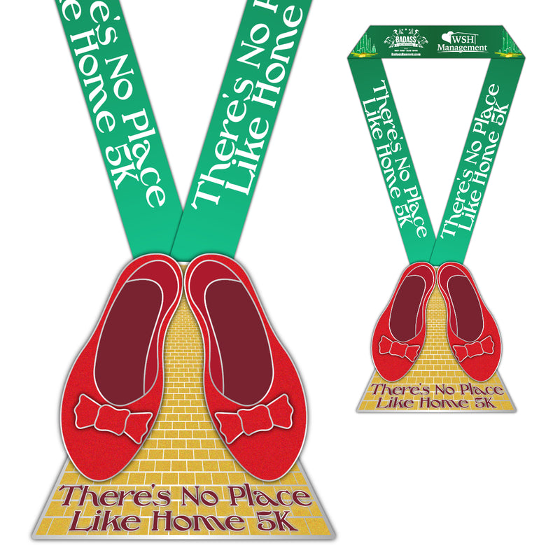 There's No Place Like Home 5K (Virtual Charity Race)