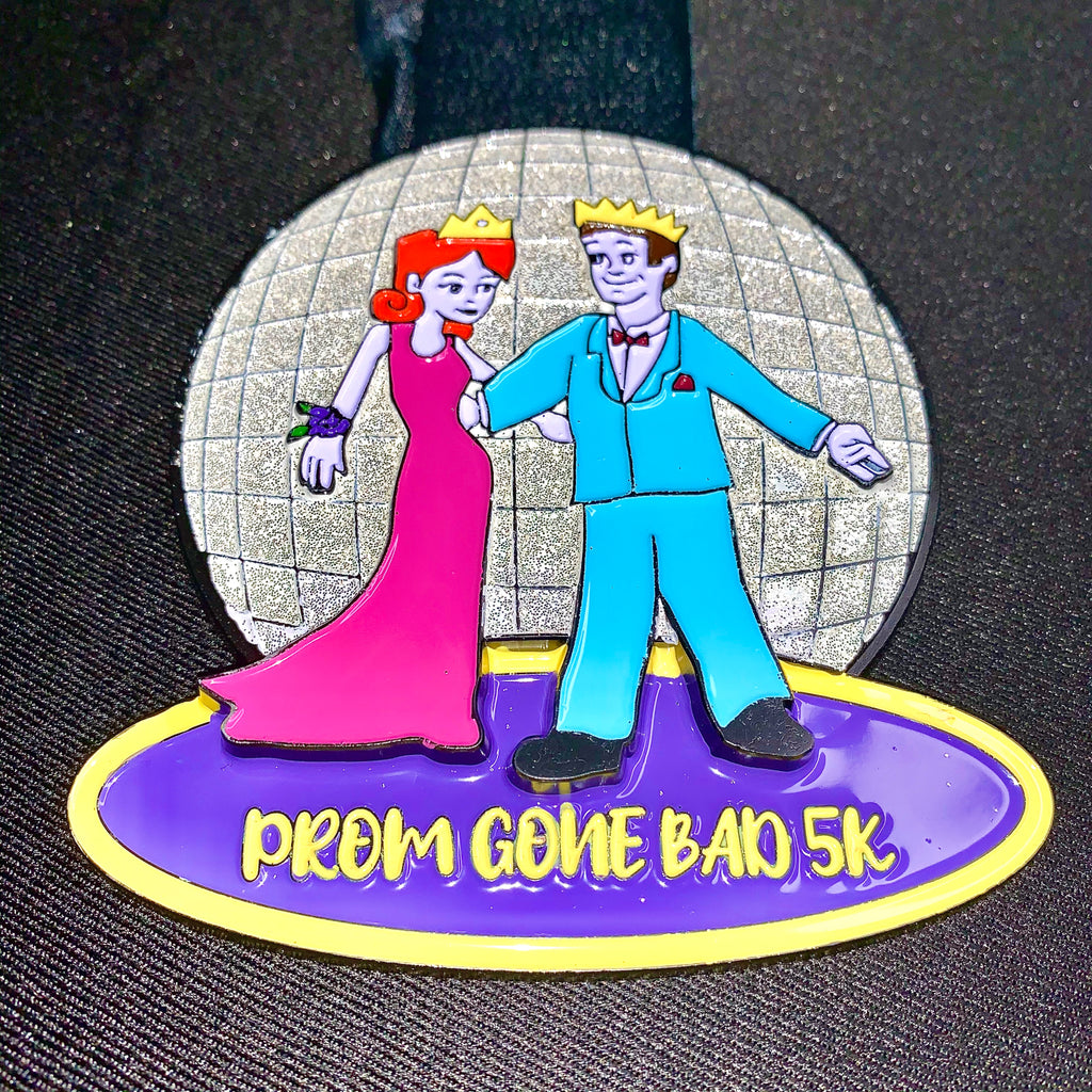 "Prom Gone Bad 5K ""Rock Your 80's Style Virtual"""