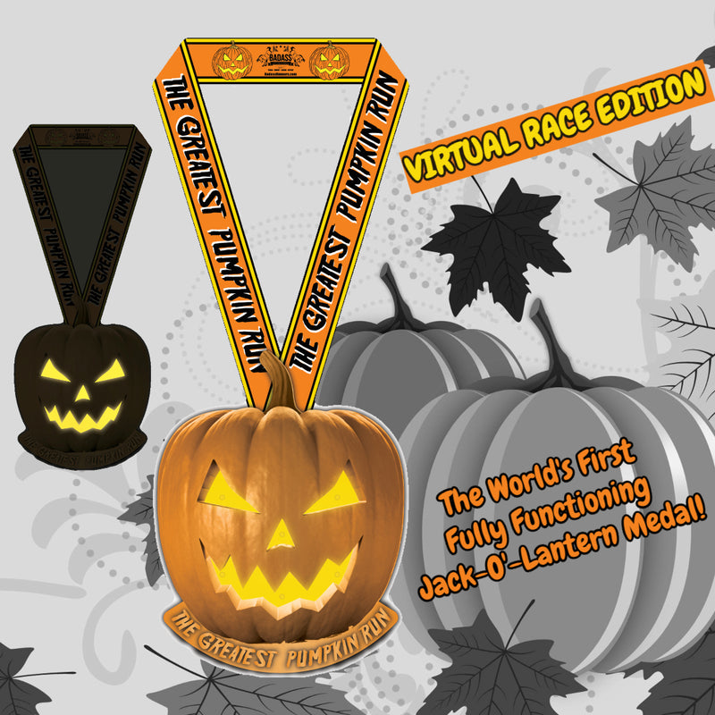 The Greatest Pumpkin Run Virtual 5K For The Bahamas