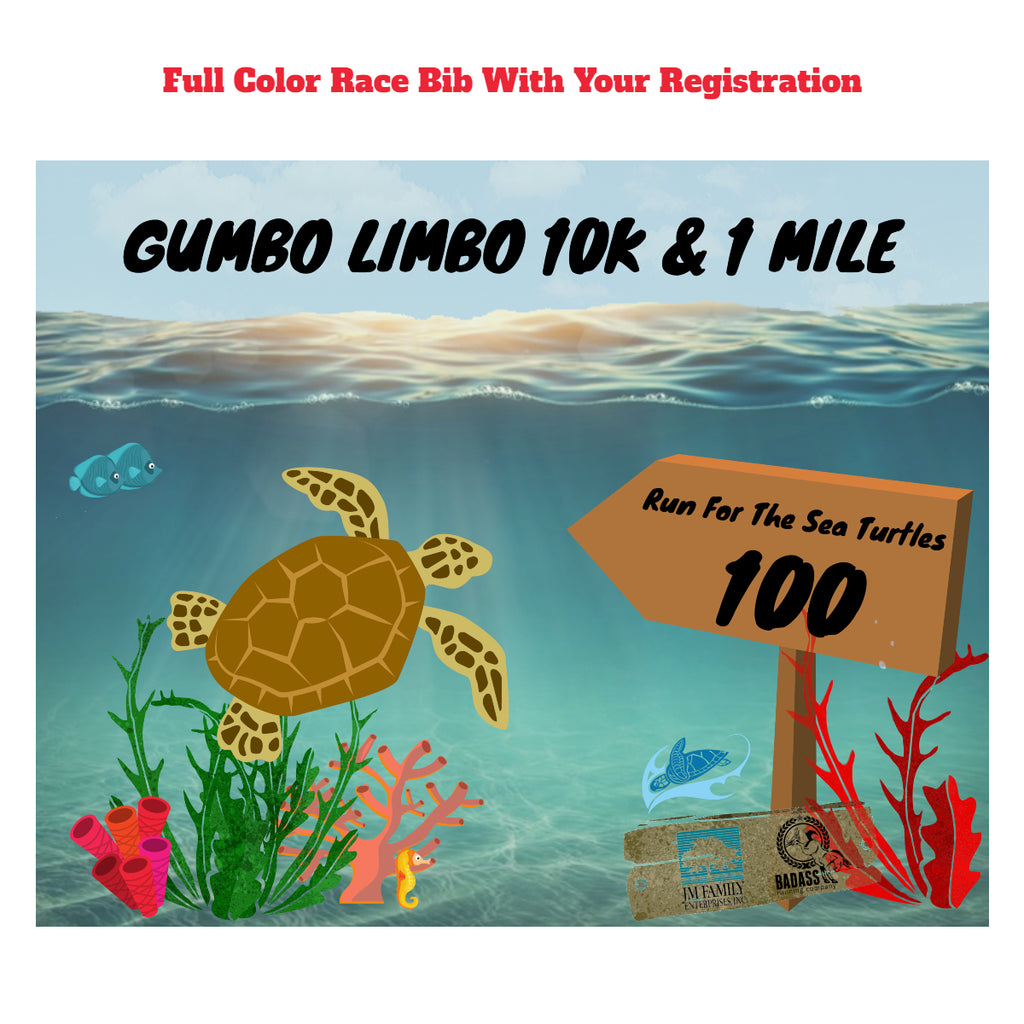 Gumbo Limbo Virtual 10K & 1 Mile Run