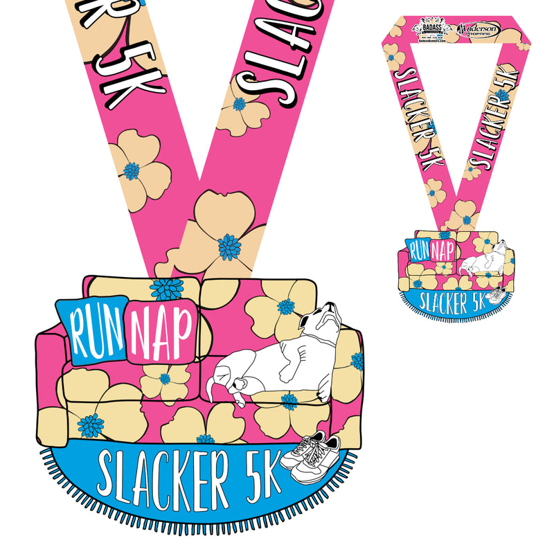 Slacker 5K  (Virtual Charity Race)