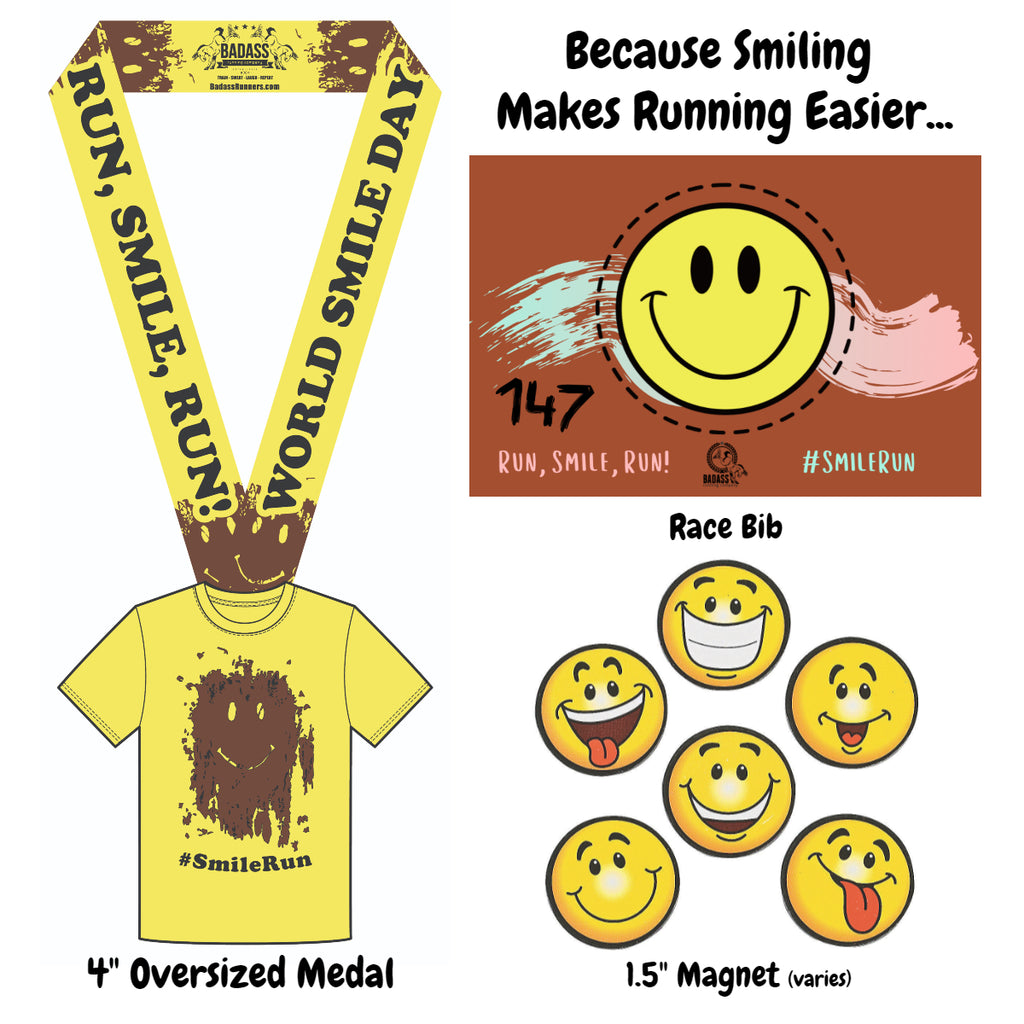 World Smile Day Virtual Charity 5K