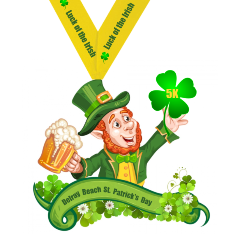 Delray Beach St. Patrick's Day Charity 5K