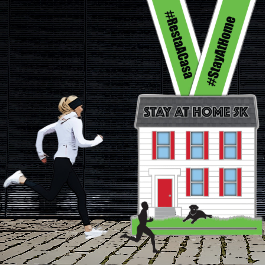 Stay At Home 5K (Virtual Charity Race)