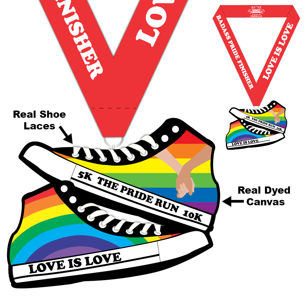 The Pride 5K and 10K Virtual Charity Run