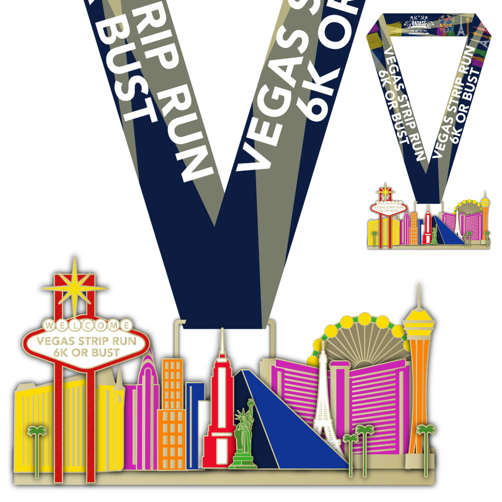 Vegas Strip Run 6K Or Bust (Virtual Race)