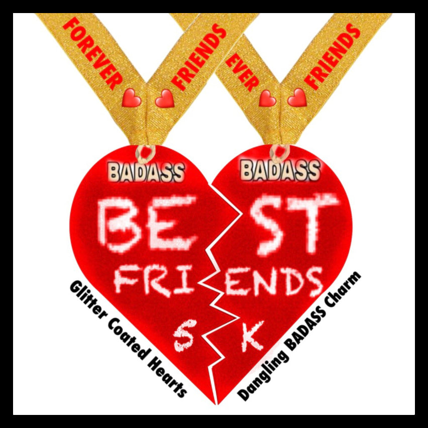 Badass Best Friends 5K Virtual Charity Run