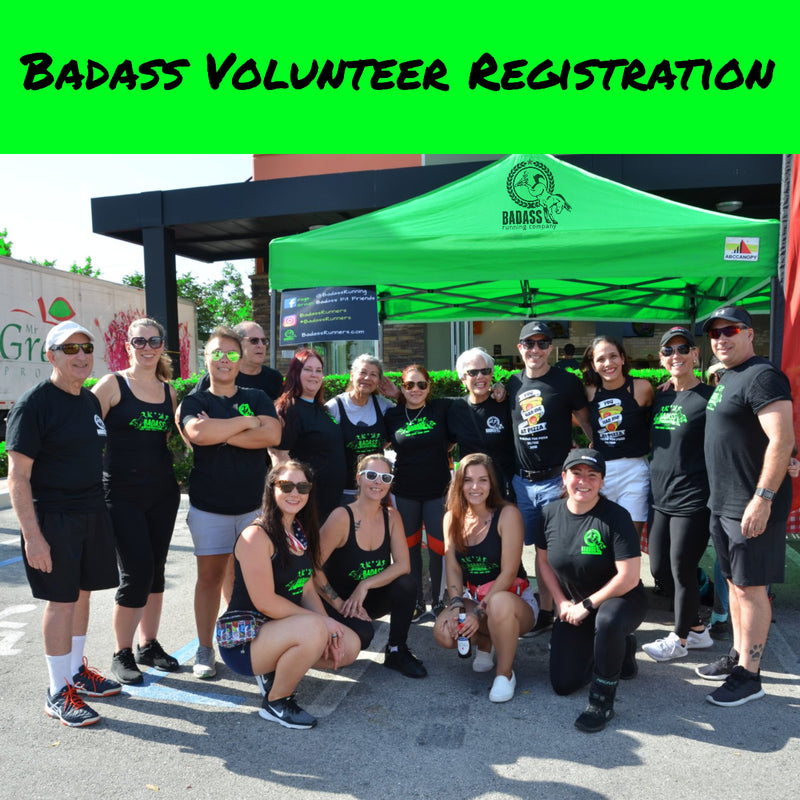 Badass Volunteer Registration