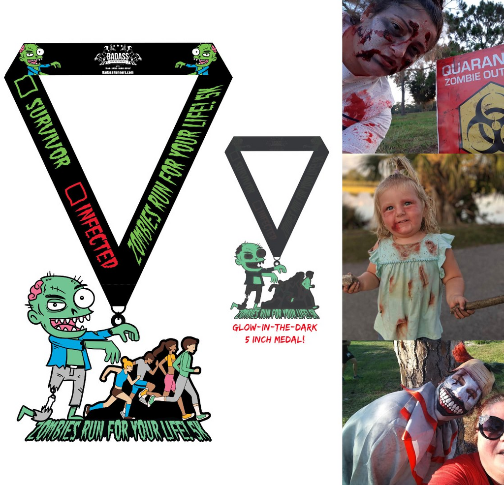 Zombies Run For Your Life! 5K