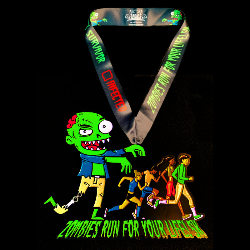Zombies Run For Your Life! (Virtual Charity 5K)